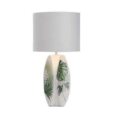 Lampa stołowa PALMA biała E27 CANDELLUX