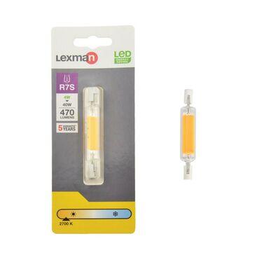 Żarówka LED R7S 4 W = 40 W 470 lm Ciepła LEXMAN