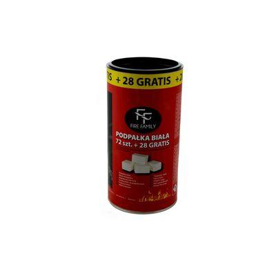 Podpałka - trociny 72 KOSTKI – TUBA 0.6kg FIRE FAMILY