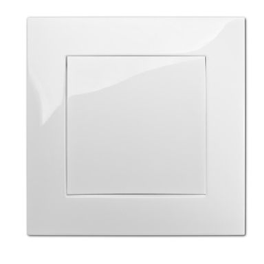 Włącznik pojedynczy CARLA  biały  ELEKTRO - PLAST