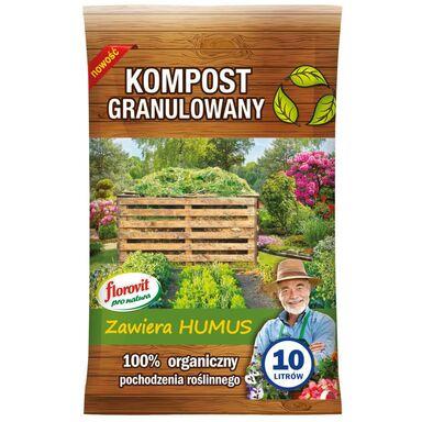 Kompost granulowany 10 l FLOROVIT PRO NATURA