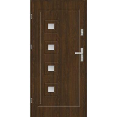 Drzwi wejściowe GENUA 90 Lewe Orzech EVOLUTION