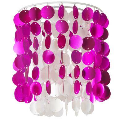 Abażur LEZO 25 x 29 cm PVC Różowy E27 INSPIRE