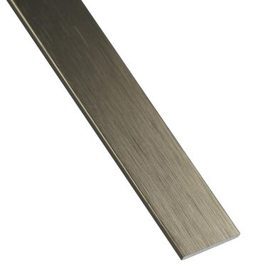 Płaskownik aluminiowy 2.6 m x 30 x 2 mm anodowany srebrny