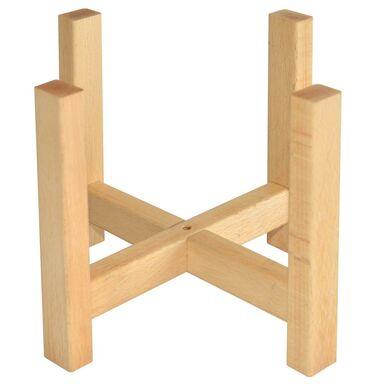 Stojak drewniany pod osłonkę 25 x 25 x 19 cm