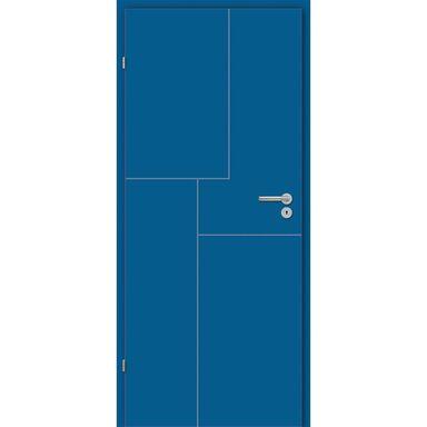 Skrzydło drzwiowe pełne Tela Niebieskie 80 Lewe Classen