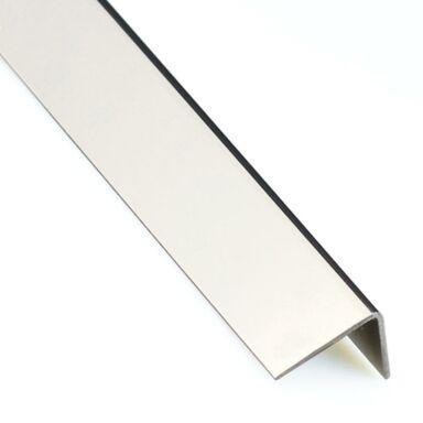 Kątownik stalowy nierdzewny 1 m x 20 x 20 mm polerowany STANDERS