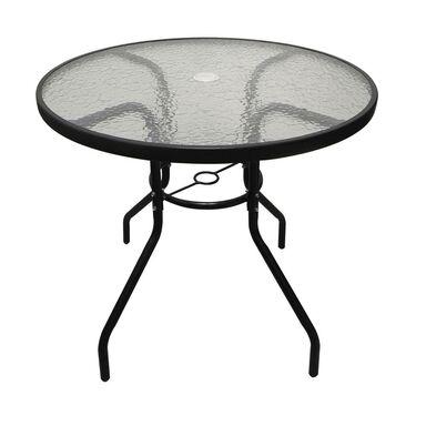 Stół ogrodowy BISTRO 80 cm stalowy