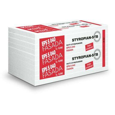 Styropian fasadowy niefrezowany EPS 040 150 mm STB