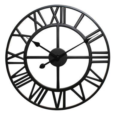Zegar ścienny Solar śr. 60 cm czarny