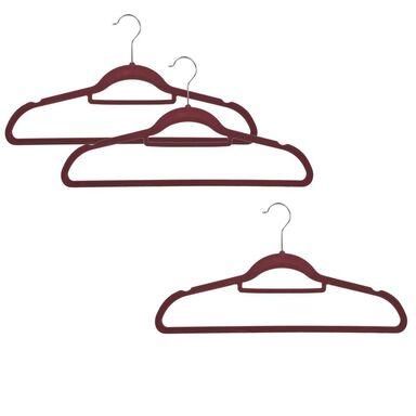Wieszak ubraniowy WELUROWY 3 szt. VITTO