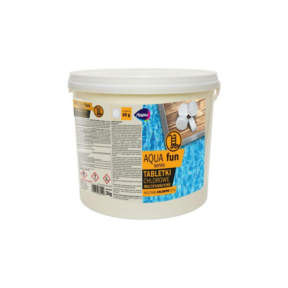 Tabletki Chlorowe Multi 3 Kg Stapar Chemia Basenowa Zapachy Do Spa W Atrakcyjnej Cenie W Sklepach Leroy Merlin