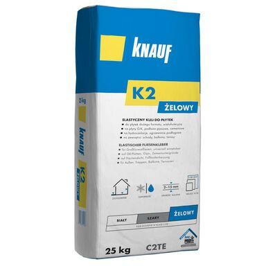 Klej do płytek elastyczny K2 żelowy 25 kg Knauf