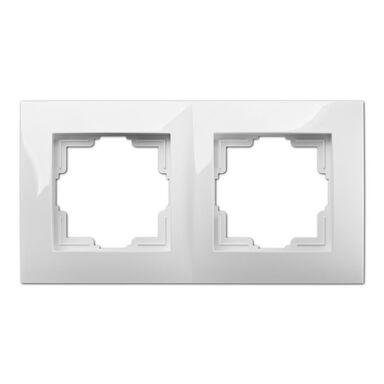 Ramka podwójna CARLA  Biały  ELEKTRO-PLAST