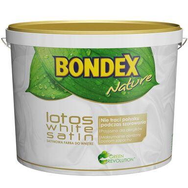 Farba wewnętrzna WHITE LOTOS SATIN 10 l BONDEX