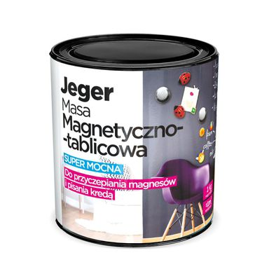 Masa MAGNETYCZNO-TABLICOWA 1 kg Szara JEGER