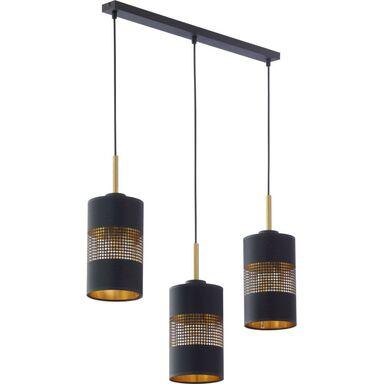 Lampa wisząca TAGO czarna 3 x E27 TK LIGHTING