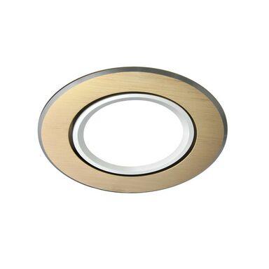 Oprawa stropowa oczko EAST OPAL złota okrągła GU10 POLUX