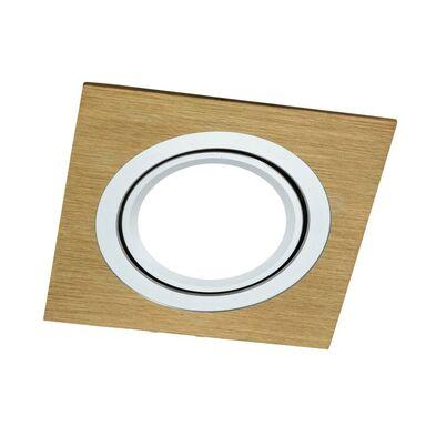Oprawa stropowa oczko SOUTH OPAL złota kwadratowa GU10 POLUX