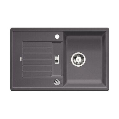 zlewozmywak granitowy zia 45 s blanco zlewozmywaki granitowe w atrakcyjnej cenie w sklepach. Black Bedroom Furniture Sets. Home Design Ideas