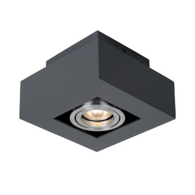 Oprawa natynkowa CASEMIRO czarna GU10 ITALUX