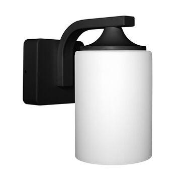 Kinkiet łazienkowy ENDURA IP44 czarny E27