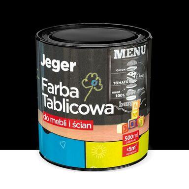 Farba tablicowa do mebli i ścian 0.5 l Czarna JEGER