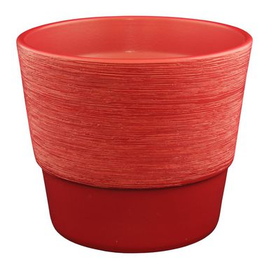 Doniczka ceramiczna 27.5 cm czerwona 50028/49 CERMAX