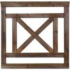 Płot tarasowy 90x90 cm drewniany NIVE NATERIAL