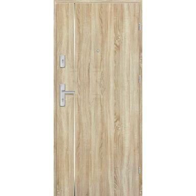 Drzwi zewnętrzne drewniane Grafen Top Dąb Sonoma Polska 80 Prawe otwierane na zewnątrz Nawadoor
