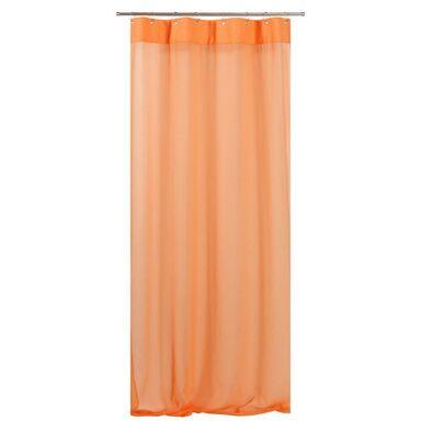 Firana na przelotkach CLEO 140 x 250 cm pomarańczowa