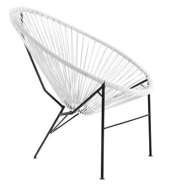 Krzesło ogrodowe ACAPULCO białe