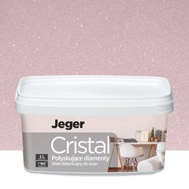 Efekt dekoracyjny CRISTAL 1 l Fabio Brokatowy JEGER