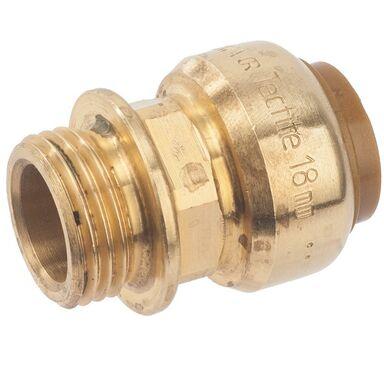 """Złączka PUSH 18 mm 1/2"""" GZYORKSHIRE"""