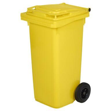 Pojemnik na odpady plastikowe i metalowe MGB 120L żółty ESE