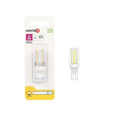 Żarówka LED G9  3.6 = 40 W 470 lm Ciepła LEXMAN