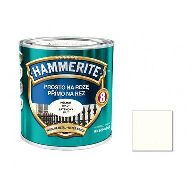 Farba antykorozyjna PROSTO NA RDZĘ 0.25 l Biały Półmat HAMMERITE