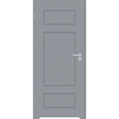 Skrzydło drzwiowe z podcięciem wentylacyjnym Grifo Szary lakier 90 Lewe Classen