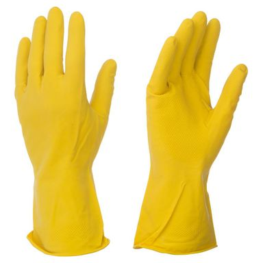 Rękawice gumowe flokowane 84006470 rozm. 9 BHP-EXPERT