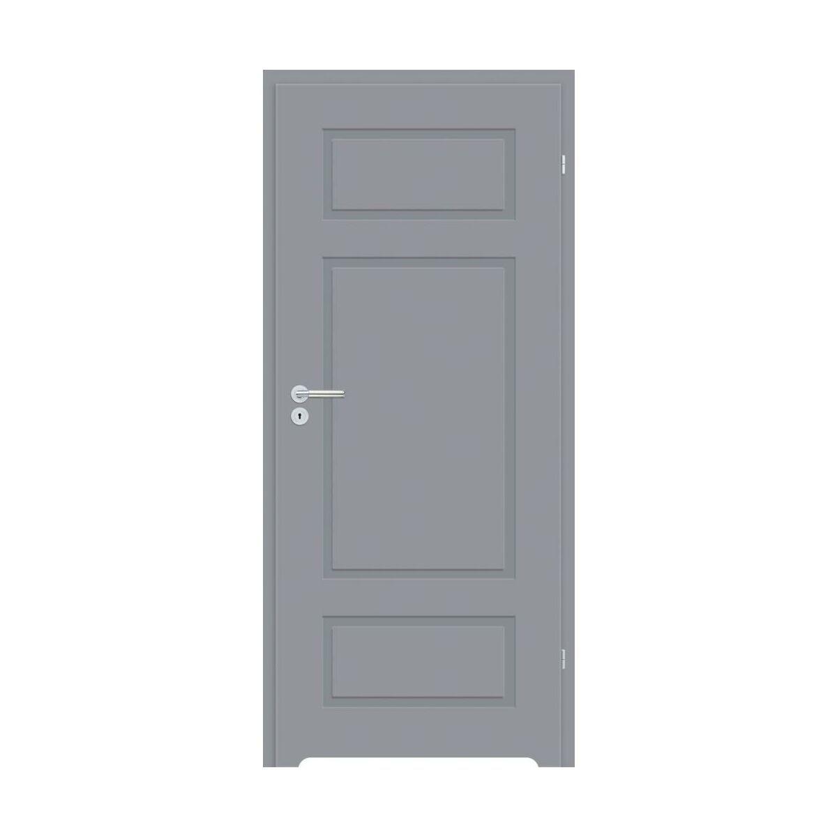 Skrzydlo Drzwiowe Z Podcieciem Wentylacyjnym Grifo Szare 90 Prawe Classen Drzwi Wewnetrzne W Atrakcyjnej Cenie W Sklepach Leroy Merlin