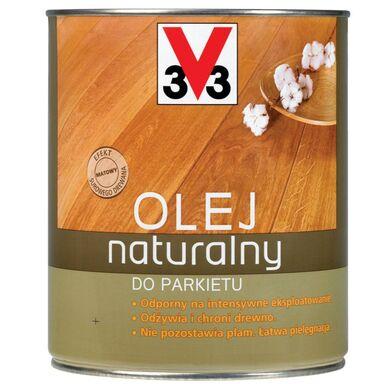 Olej NATURALNY DO PARKIETU 1 l Miodowy V33