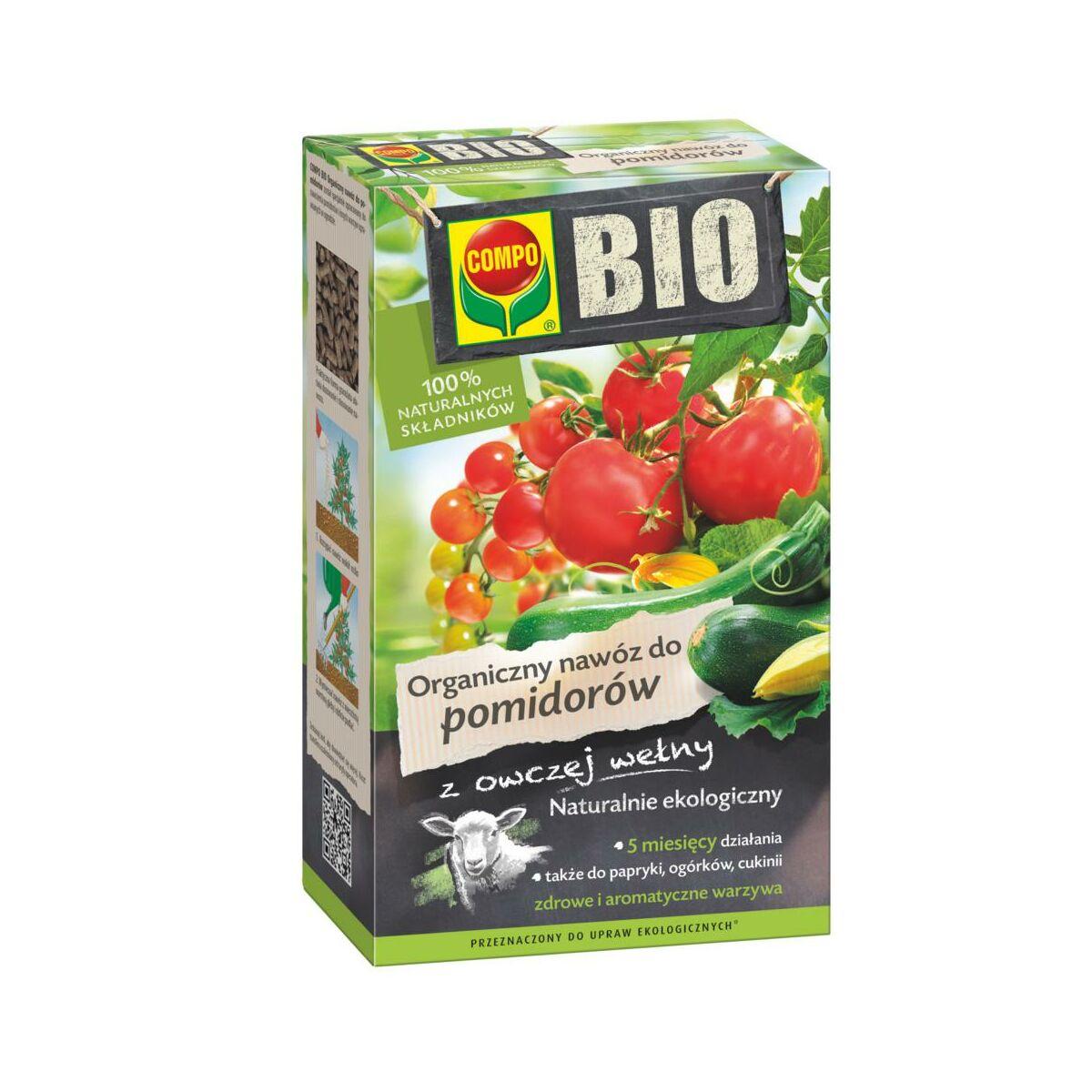 Nawóz do pomidorów 0,75 kg COMPO BIO