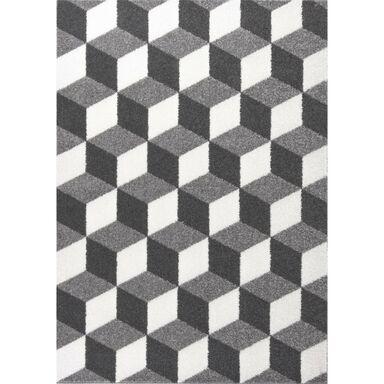 Dywan KUBIK szary 200 x 300 cm