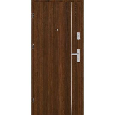 Drzwi zewnętrzne drewniane Grafen Top Orzech Polski 90 Lewe otwierane do wewnątrz Nawadoor