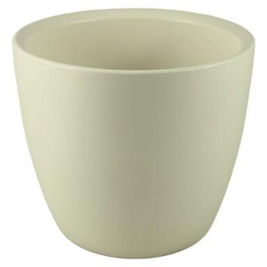 Osłonka ceramiczna 21 cm kremowa 30121/023