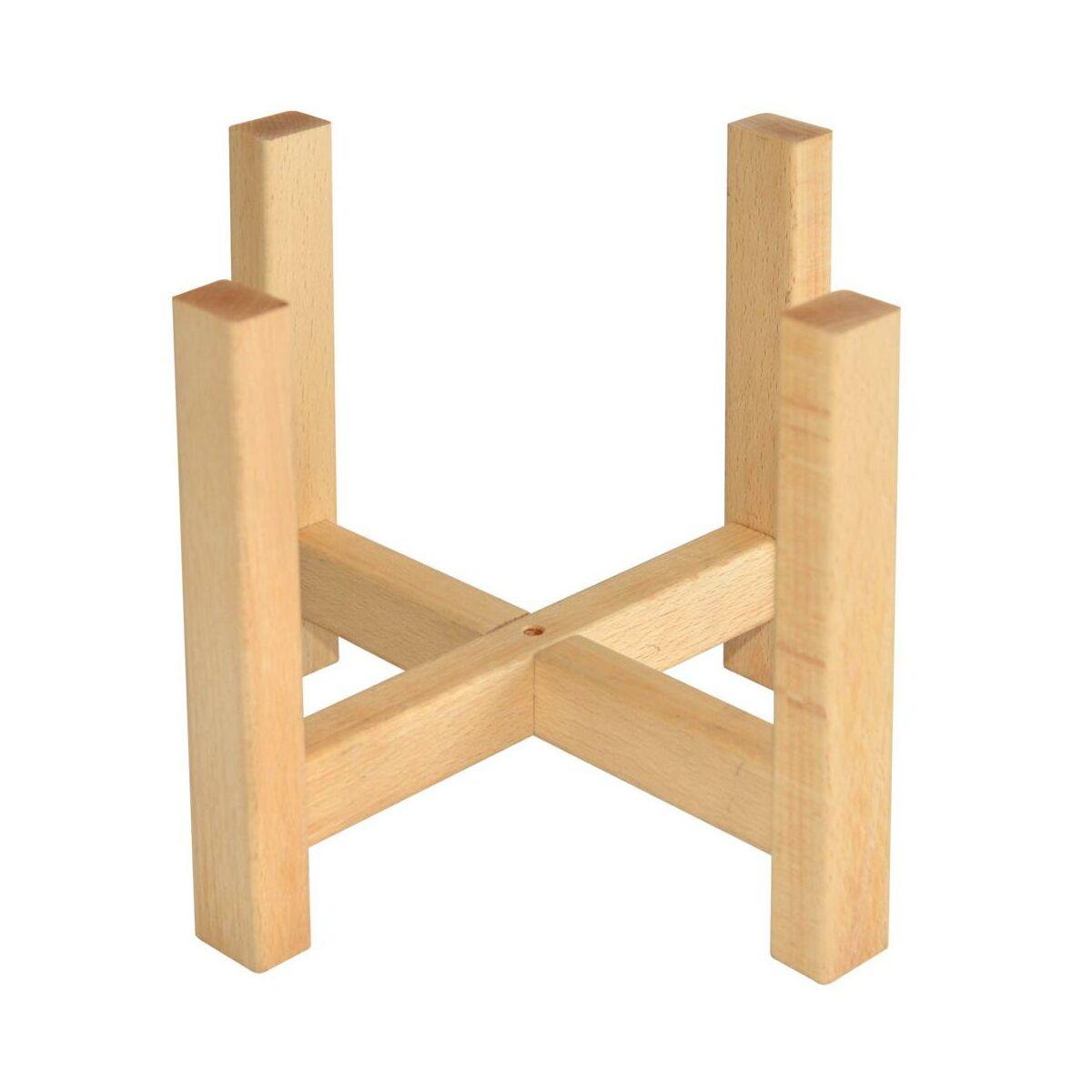Stojak Drewniany Pod Osłonkę 29 X 29 X 23 Cm