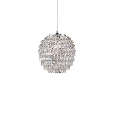 Lampa wisząca PETTY chrom E27 TRIO LIGHTING INTER