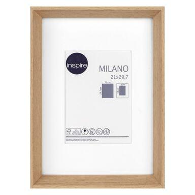 Ramka na zdjęcia Milano 21 x 29.7 cm dąb MDF Inspire