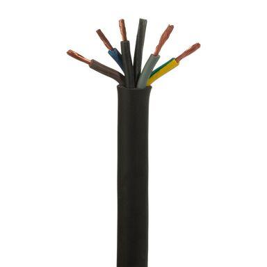 Przewód elektroenergetyczny OW H05RR - F 300 / 500V 5 X 2,5 AKS ZIELONKA