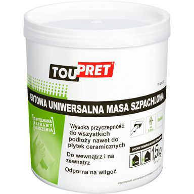 Masa szpachlowa UNIWERSALNA 1.5 kg TOUPRET